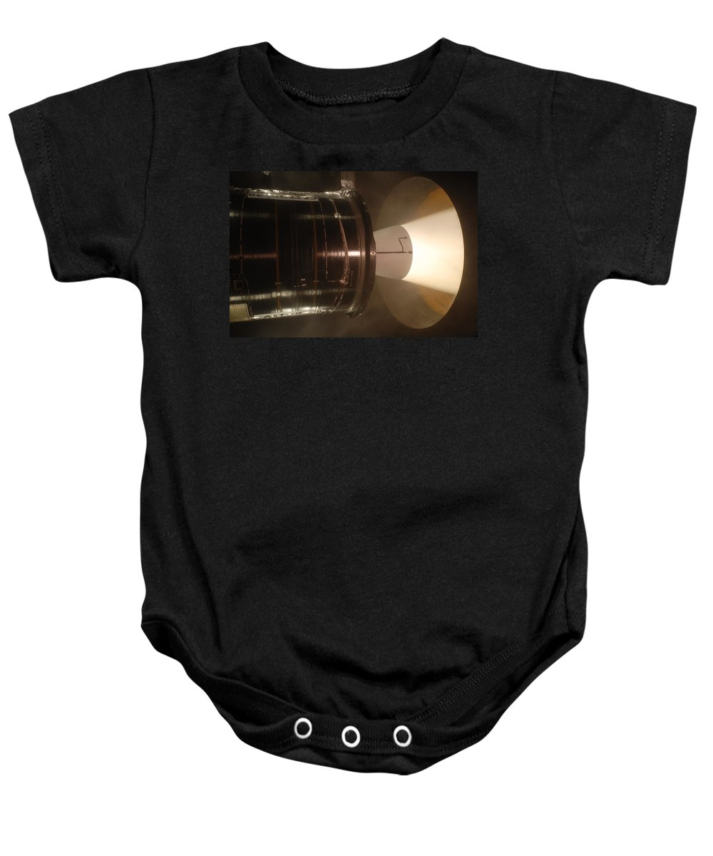 Astronomy Baby Onesie featuring the photograph Castor 30 Rocket Motor by Science Source