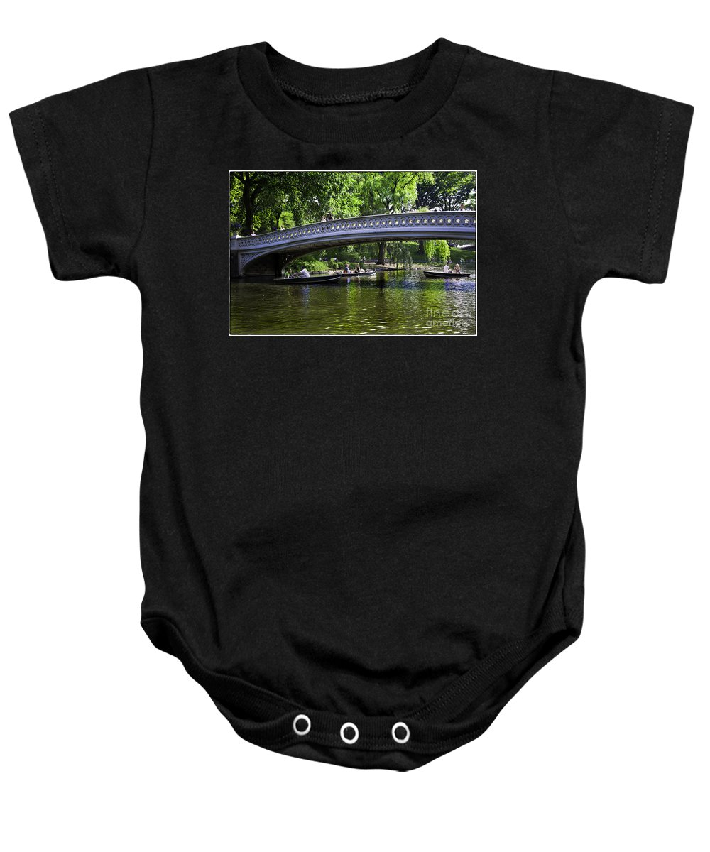 Central Park Baby Onesie featuring the photograph Central Park Day 2 by Madeline Ellis