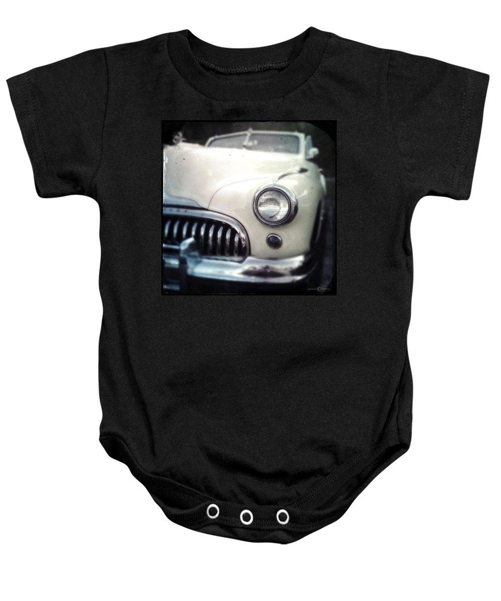 Classic Baby Onesie featuring the photograph Chevy Doughboy by Tim Nyberg