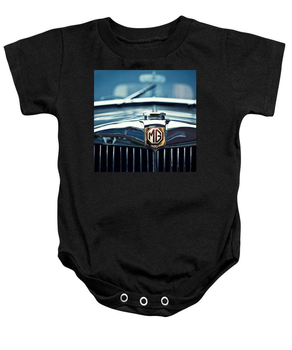 Mg Wa Baby Onesie featuring the photograph Classic Marque by Dave Bowman