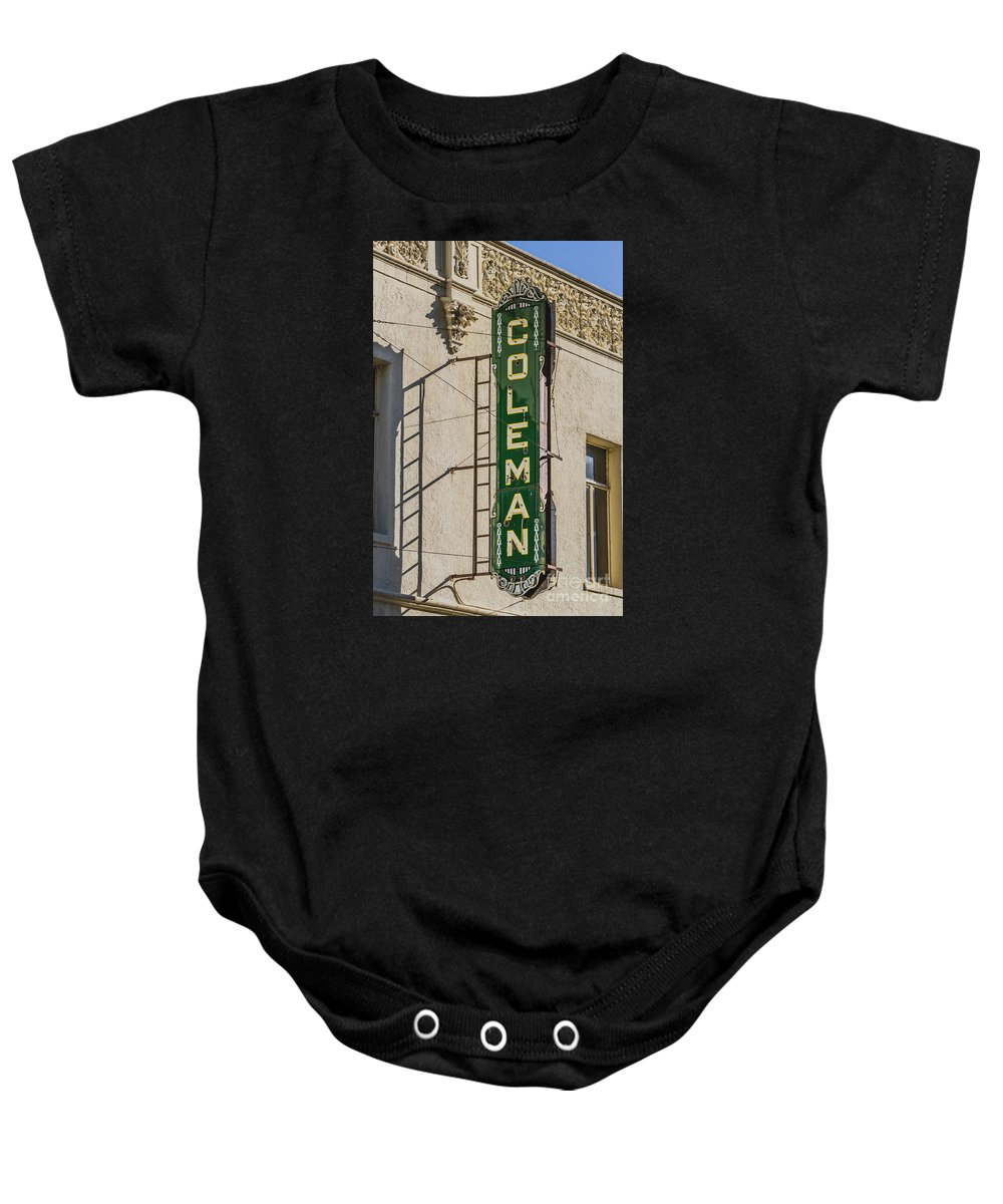 Coleman Baby Onesie featuring the photograph Coleman by Ashley M Conger