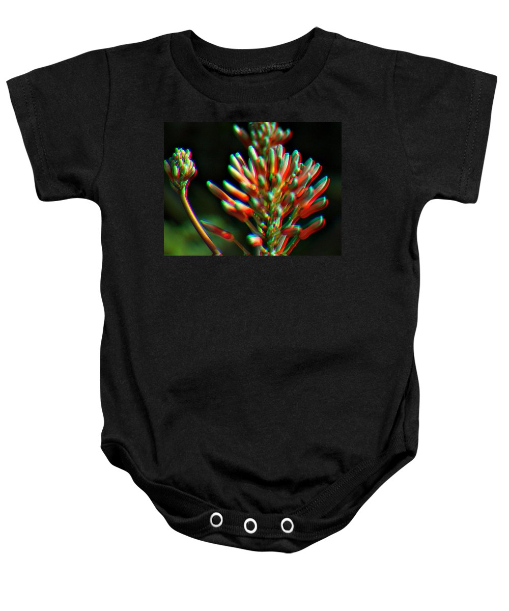 Plant Baby Onesie featuring the photograph Colorful Plant by Jo Jurkiewicz