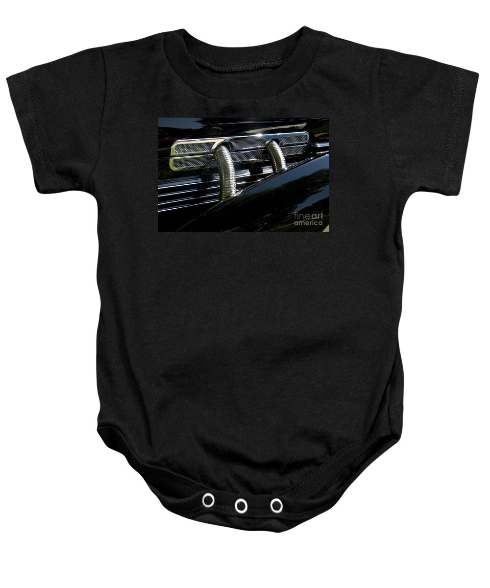 Classic Baby Onesie featuring the photograph Cord by Dennis Hedberg