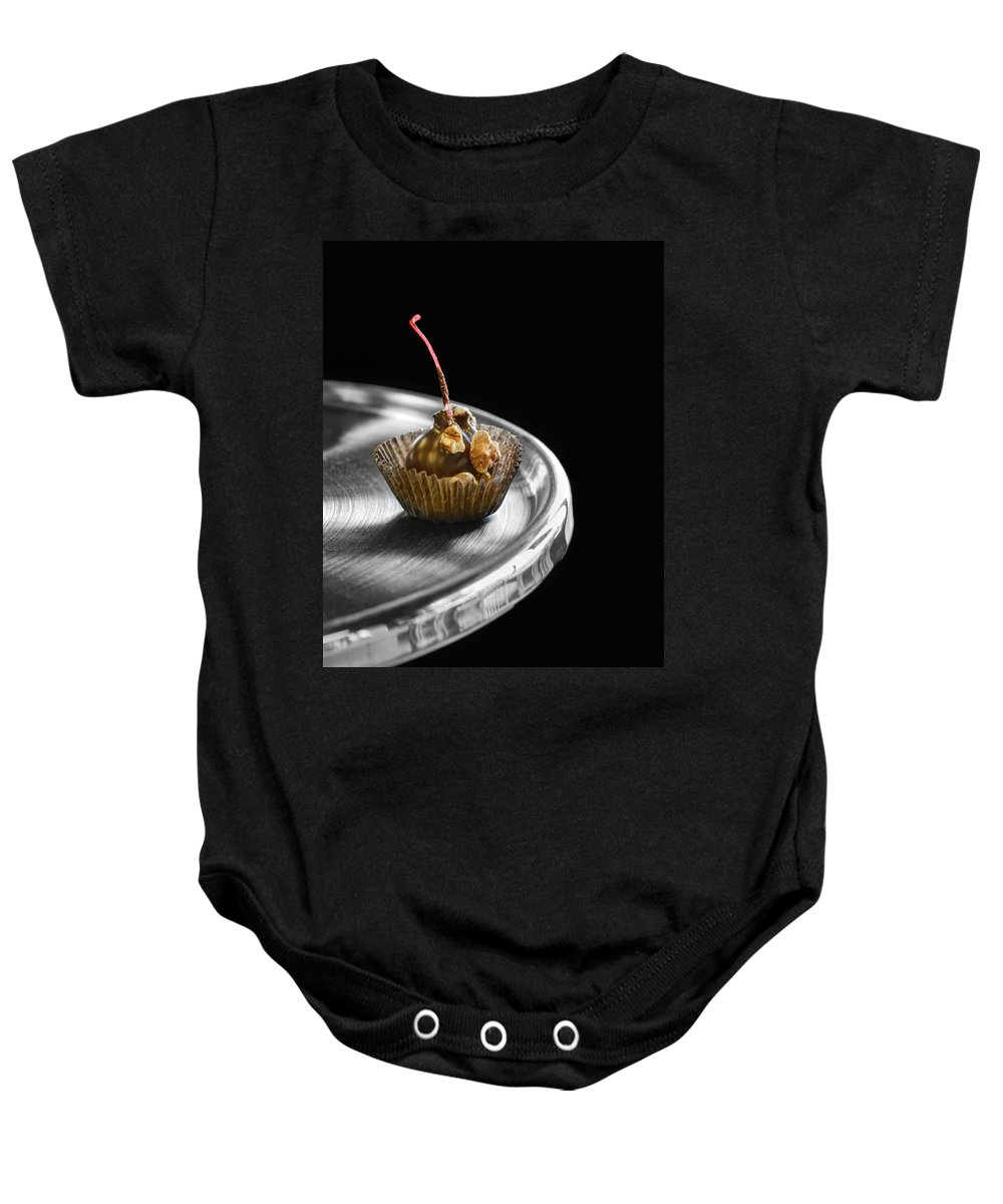 Desserts Baby Onesie featuring the photograph Cordial by Nikolyn McDonald
