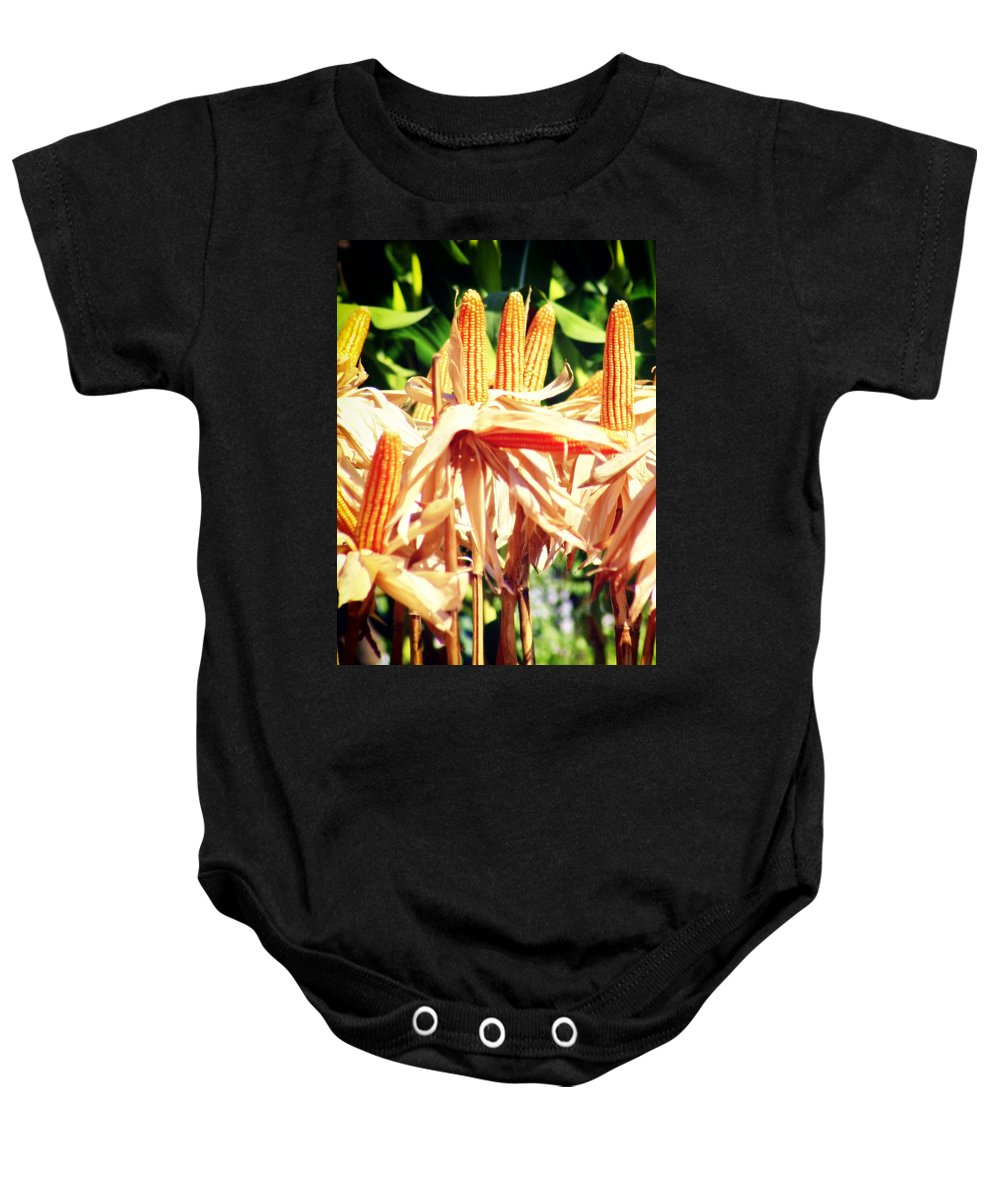 Thailand Baby Onesie featuring the photograph Corn by A Rey