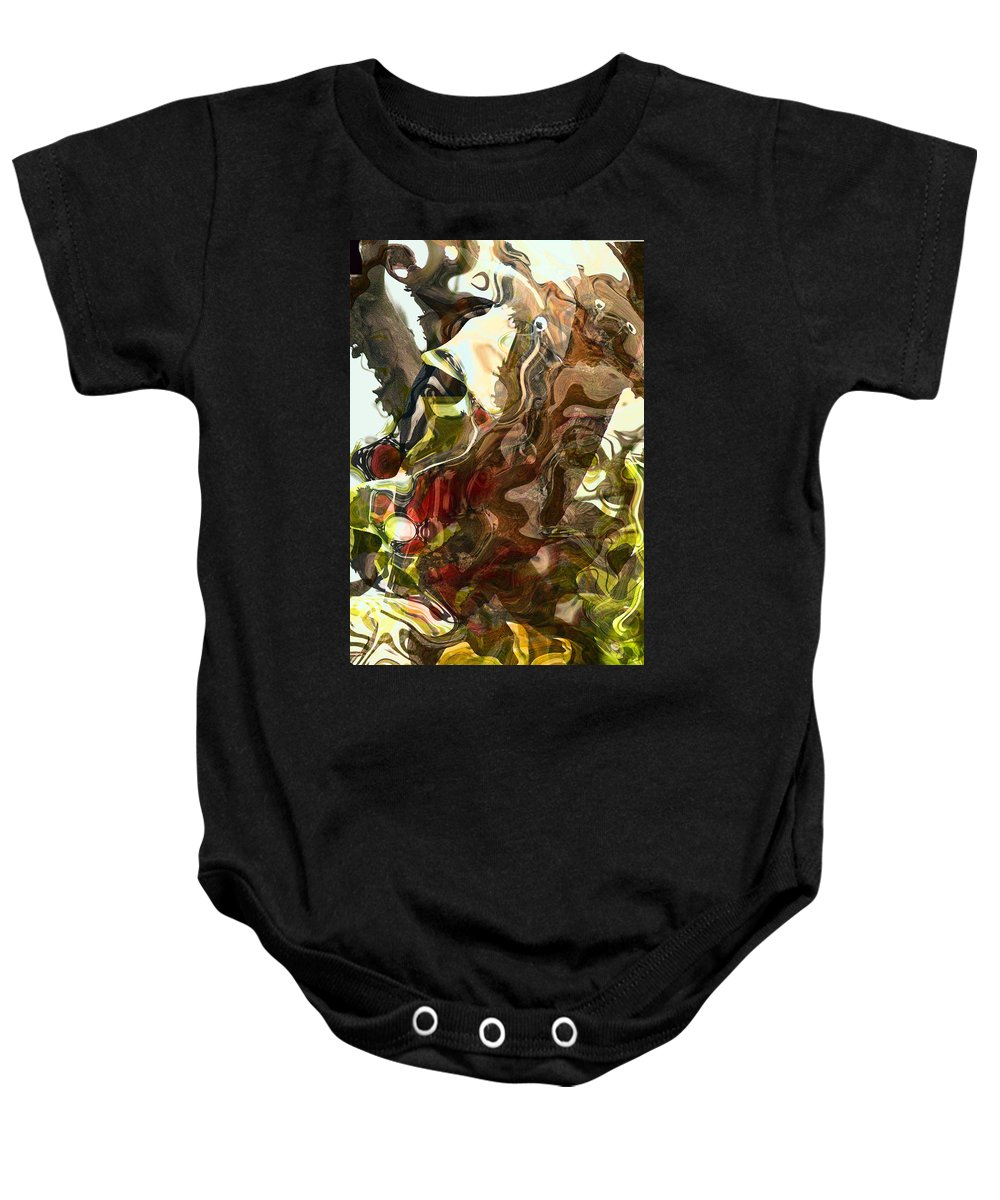 Abstract Baby Onesie featuring the photograph Countryside Creatures by Richard Thomas