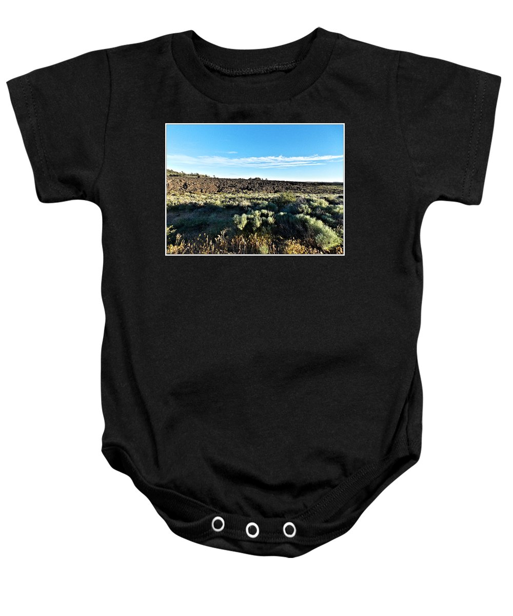 Scenery Baby Onesie featuring the photograph Craters Of The Moon 3 by Susan Kinney