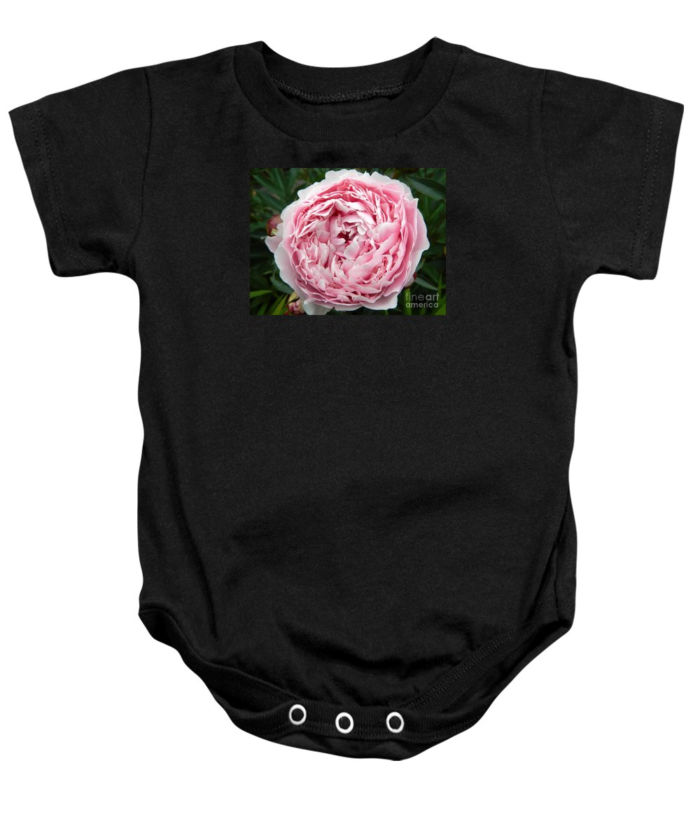 Floral Baby Onesie featuring the photograph Curly Head by Loreta Mickiene