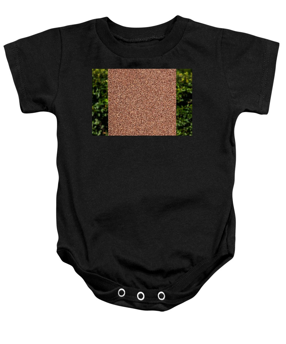 Abstract Baby Onesie featuring the photograph Dancing Column by Alexander Senin