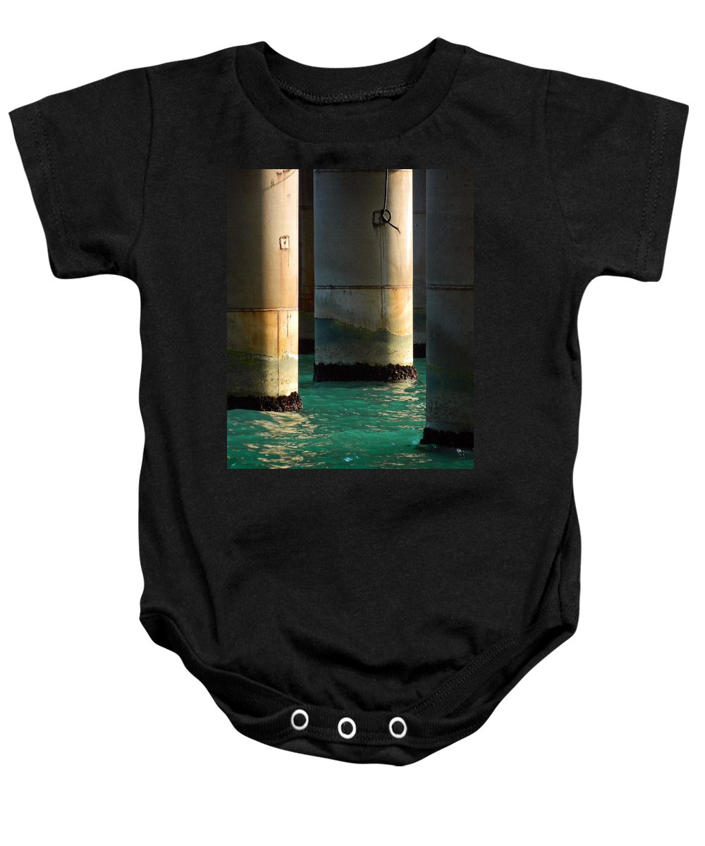 Blue Baby Onesie featuring the photograph Deep Water by Valentin Emmanouilidis