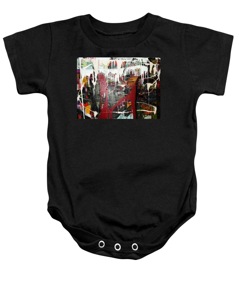 Non-objective Baby Onesie featuring the photograph Diversity by Peggy Blood