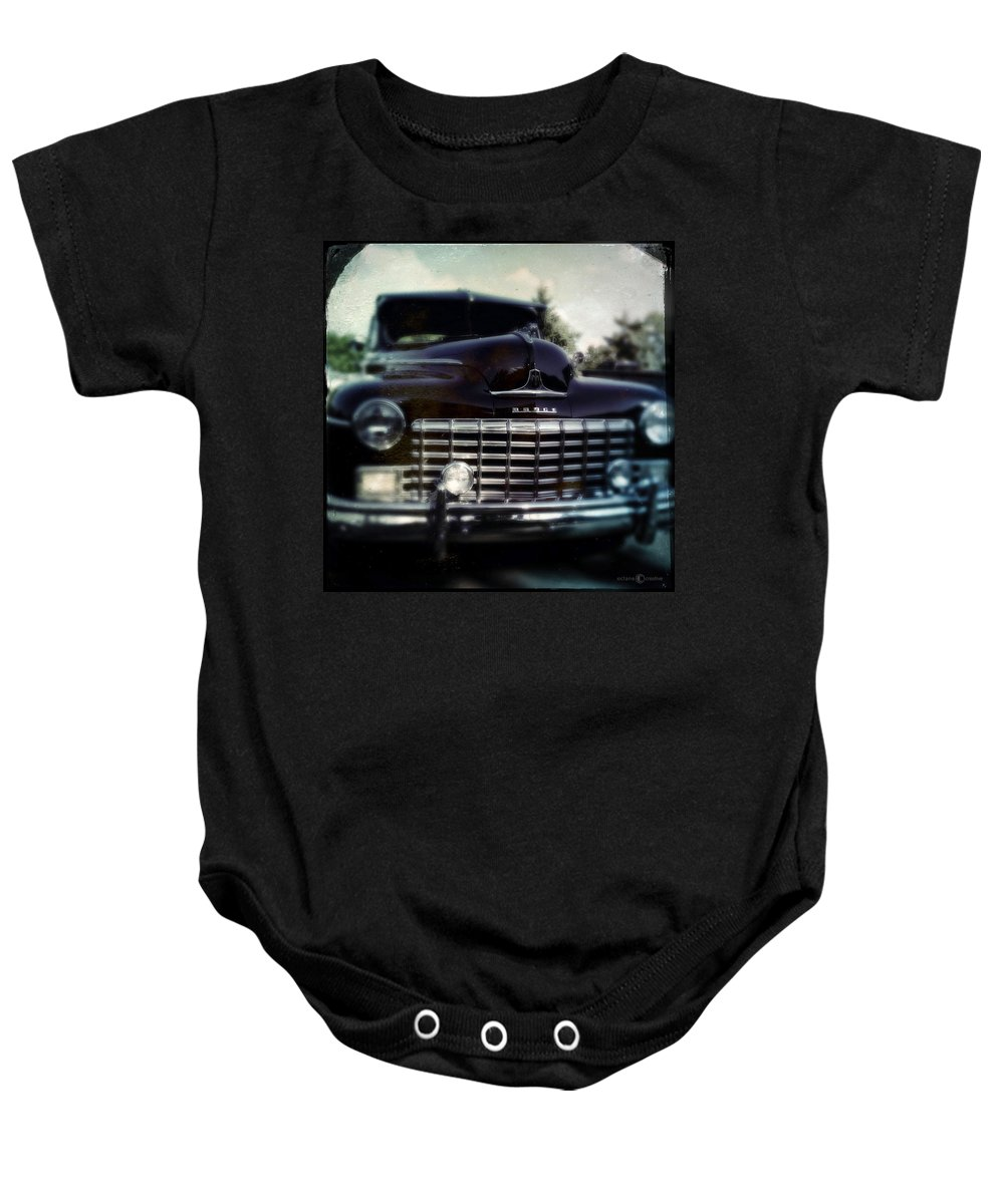 Classic Baby Onesie featuring the photograph Dodge by Tim Nyberg