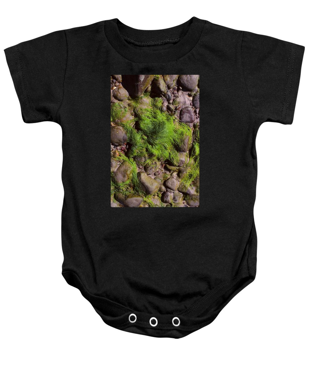 Dingle Peninsula Baby Onesie featuring the photograph Down By The Seaside by Cynthia Wallentine