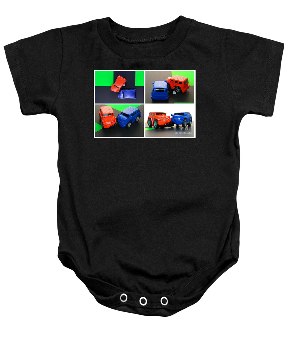 Car Baby Onesie featuring the photograph Driver's Ed by Olivier Le Queinec