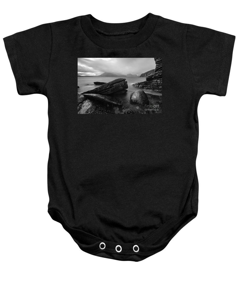 Dusk Baby Onesie featuring the photograph Elgol Beach Isle Of Skye Scotland Uk by Matteo Colombo