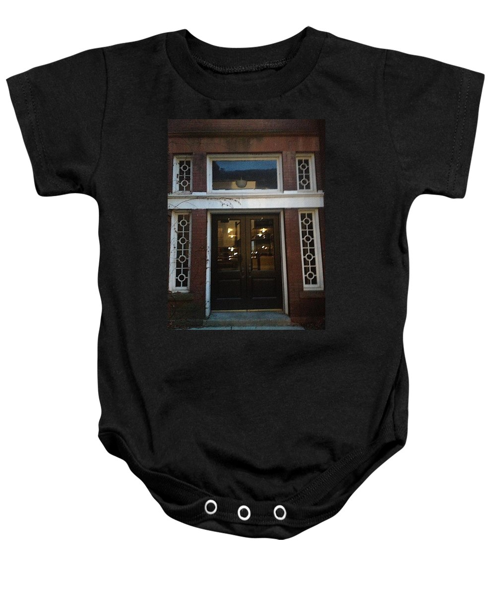 Entrance Baby Onesie featuring the photograph Evening Becomes by Joseph Yarbrough