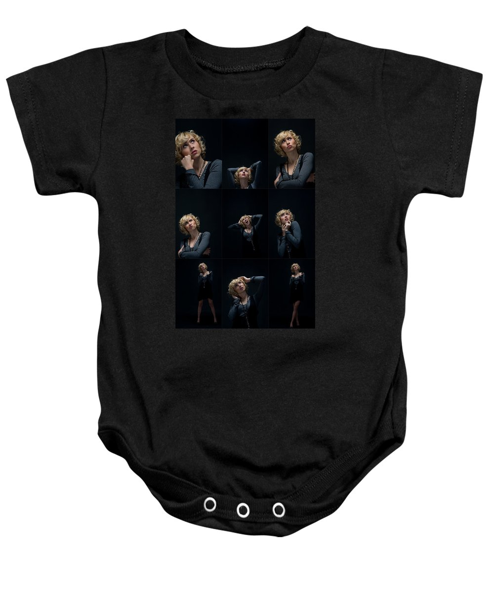 Face Baby Onesie featuring the photograph Facial Expression by Ralf Kaiser