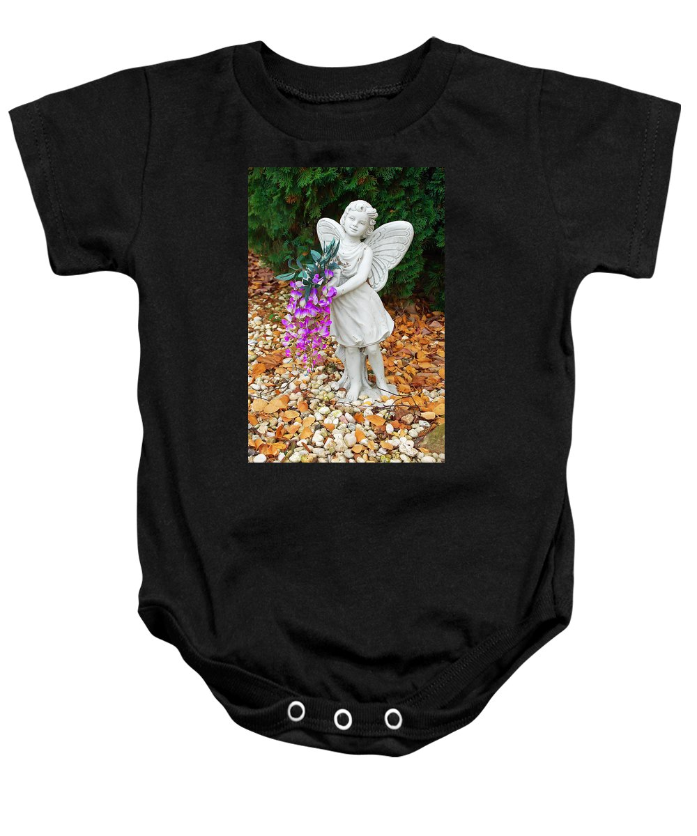 Fairy Baby Onesie featuring the photograph Fairy by Aimee L Maher ALM GALLERY