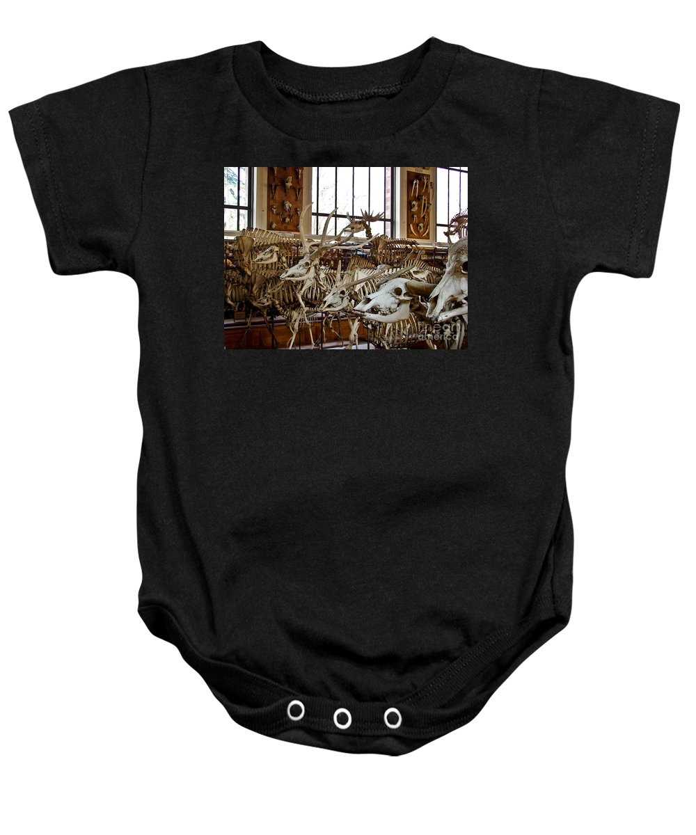 Anatomie Baby Onesie featuring the photograph Feed Me by Brothers Beerens