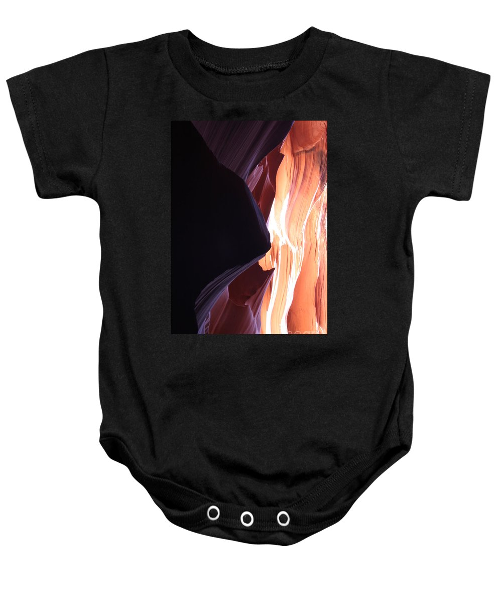 Canyon Baby Onesie featuring the photograph Floating Sandstone by Christiane Schulze Art And Photography