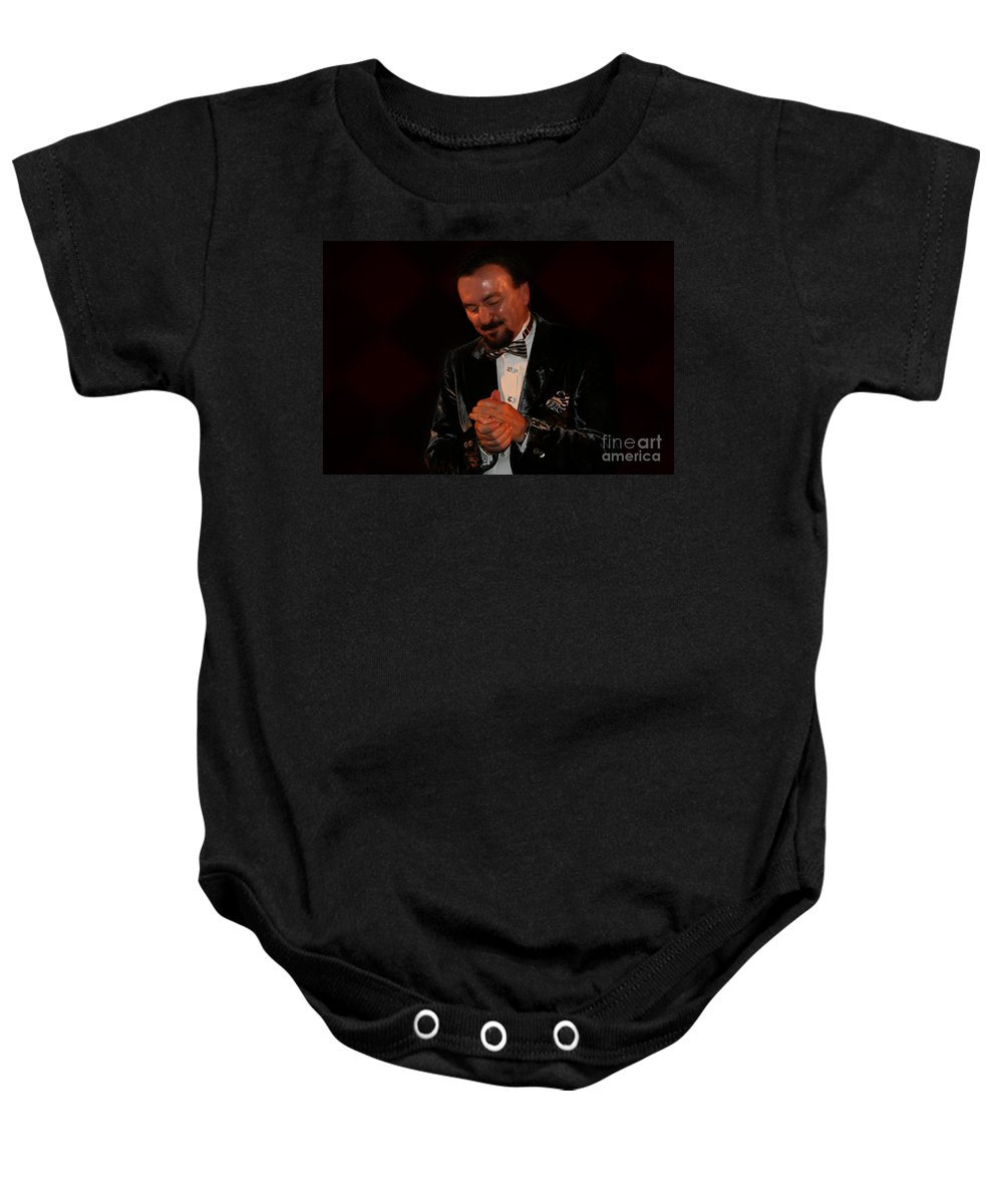 Ronnie Kole Baby Onesie featuring the photograph Forever Grateful by Bob Hislop