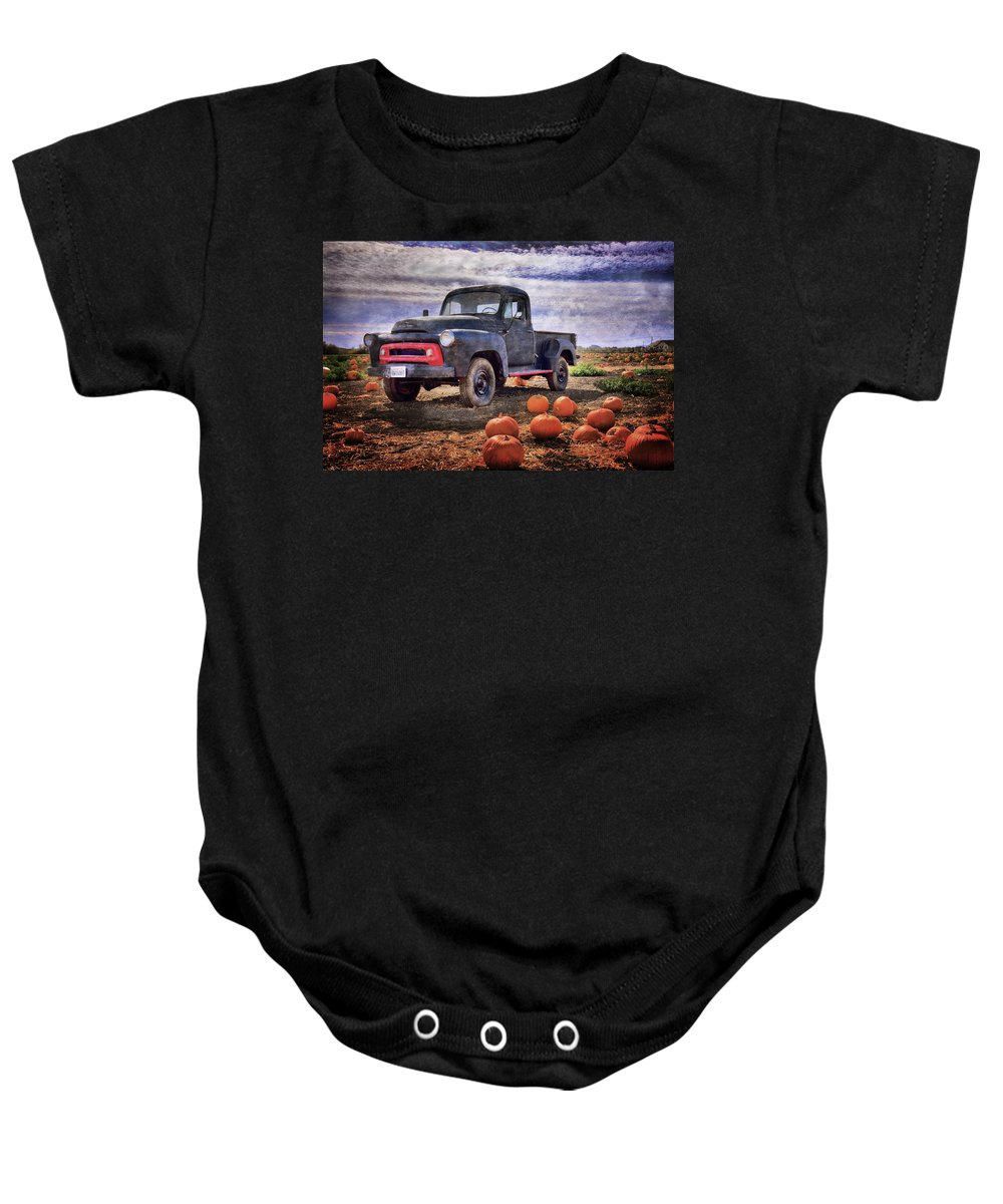 Truck Baby Onesie featuring the photograph Forgotten by Lynn Bauer