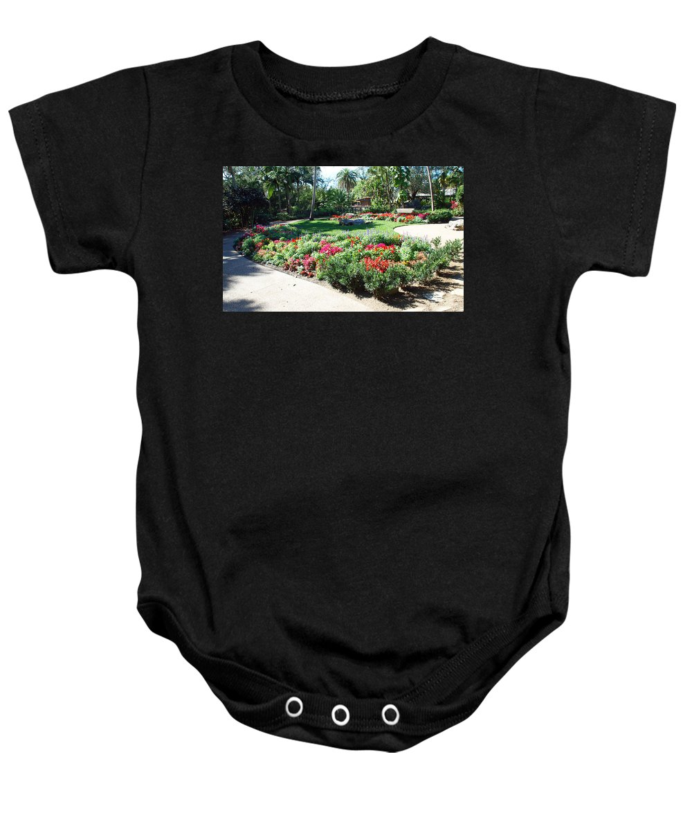 Garden Baby Onesie featuring the photograph Garden Park by Aimee L Maher ALM GALLERY