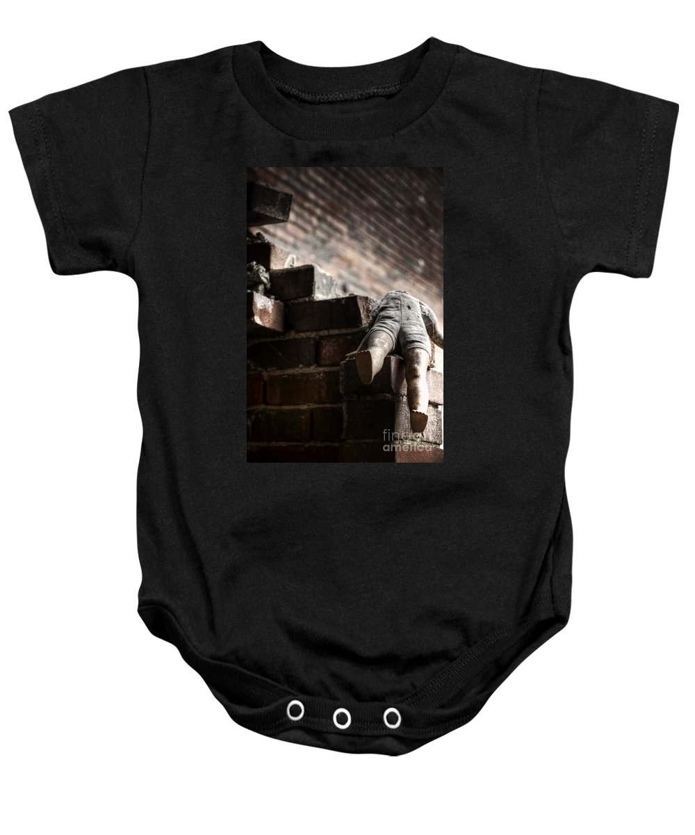 Headless Baby Onesie featuring the photograph Headless by Margie Hurwich