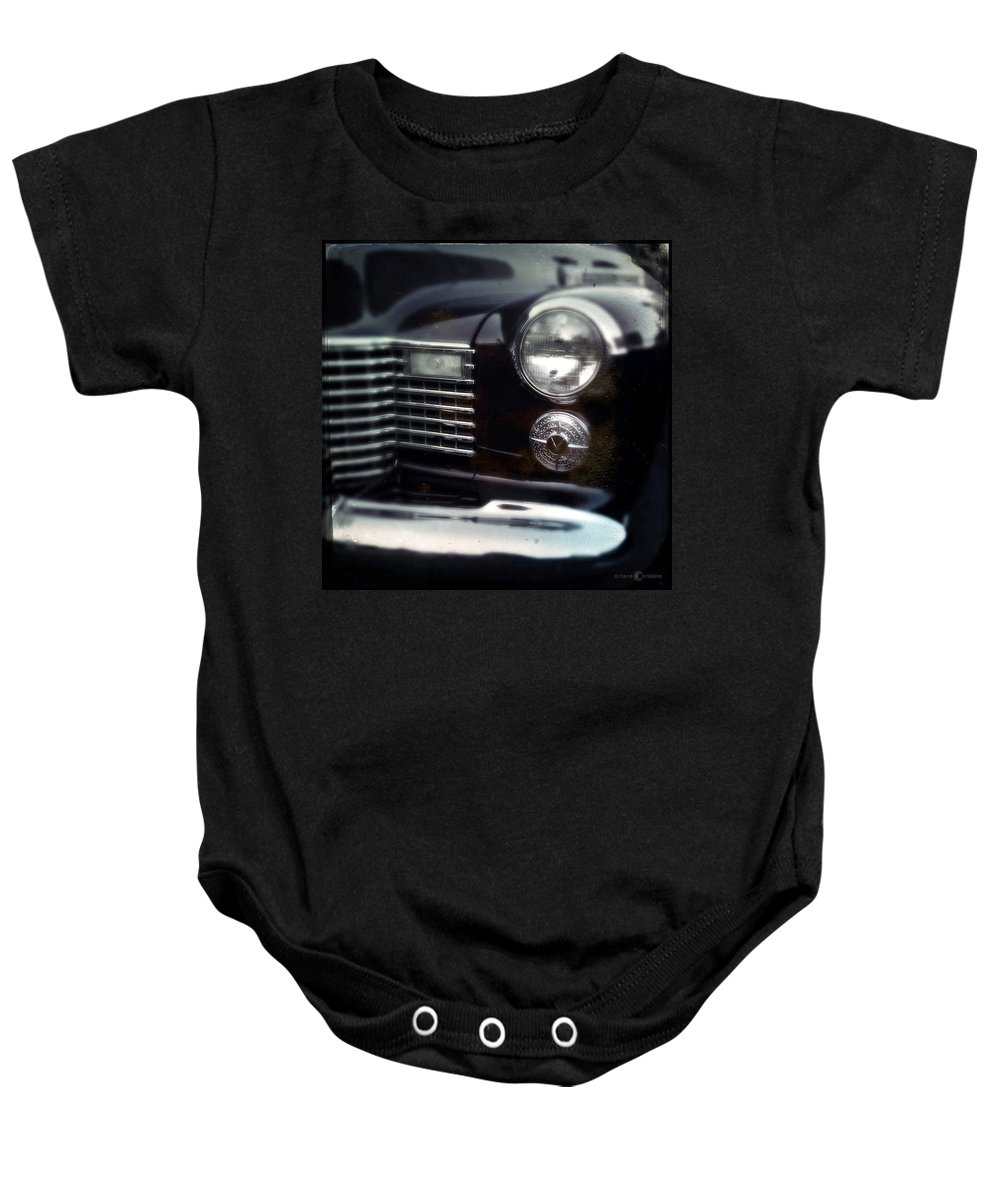 Classic Baby Onesie featuring the photograph Headlight by Tim Nyberg
