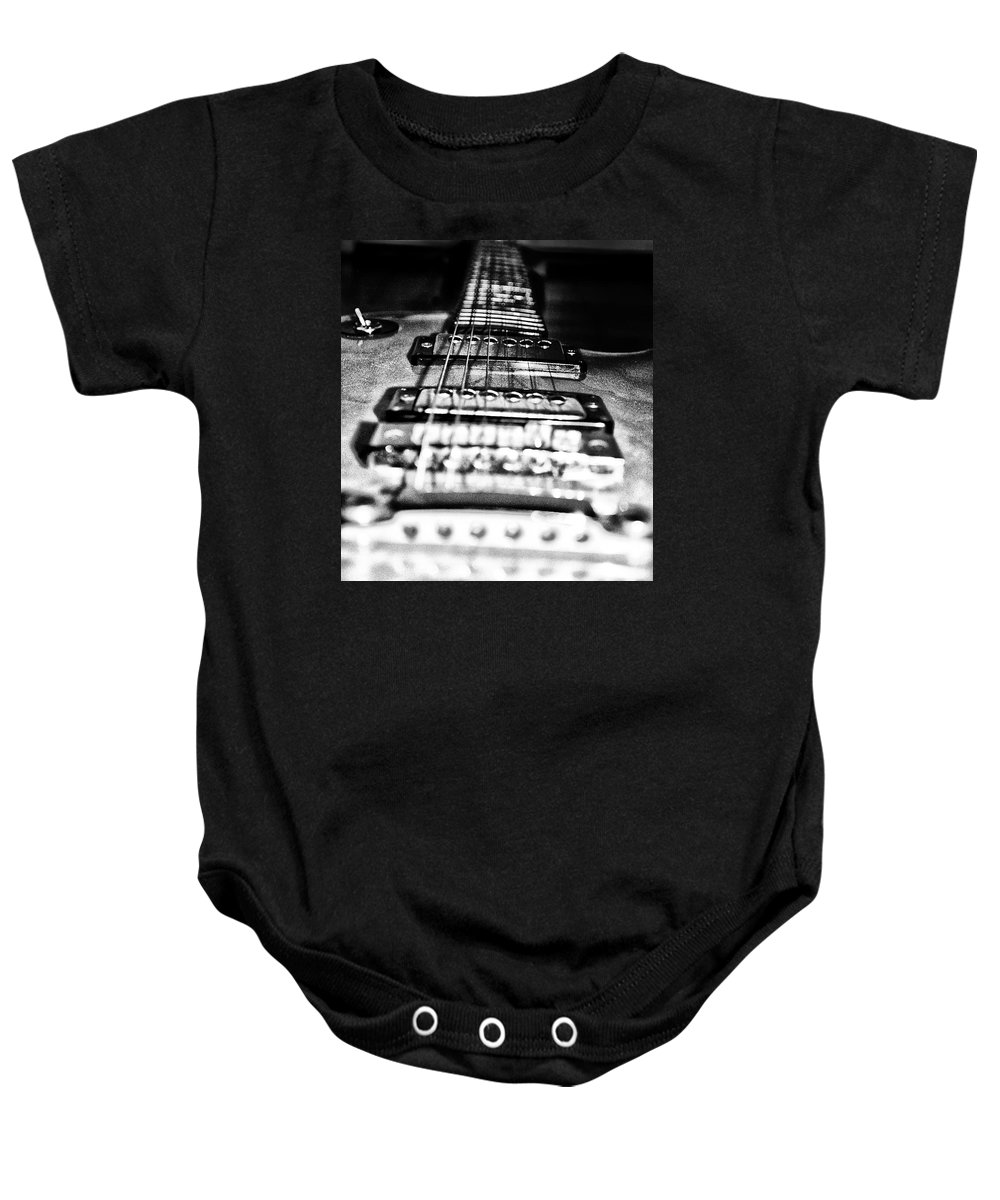 Heavy Metal Baby Onesie featuring the photograph Heavy Metal by Bill Cannon