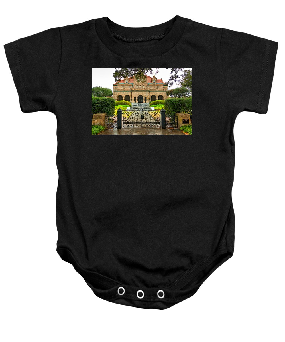 Home Baby Onesie featuring the photograph High Living In New Orleans 2 by Steve Harrington