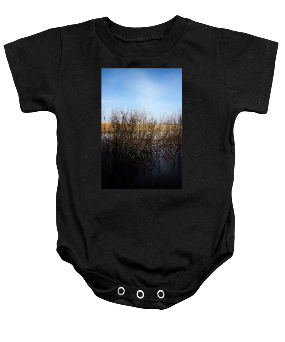 Landscapes Baby Onesie featuring the photograph Highway Seven by The Artist Project