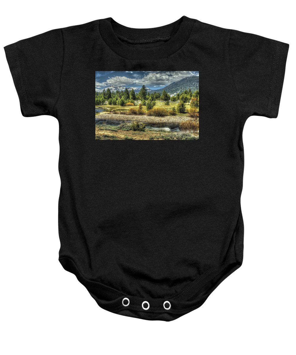 Landscape Baby Onesie featuring the photograph Hope Is Near by SC Heffner