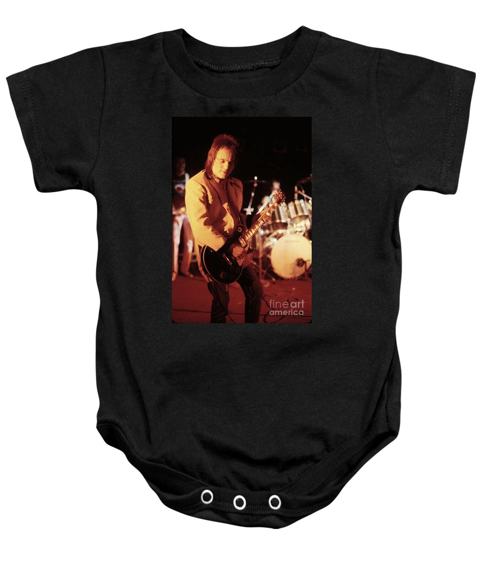 Steve Marriott Baby Onesie featuring the photograph Humble Pie by Concert Photos