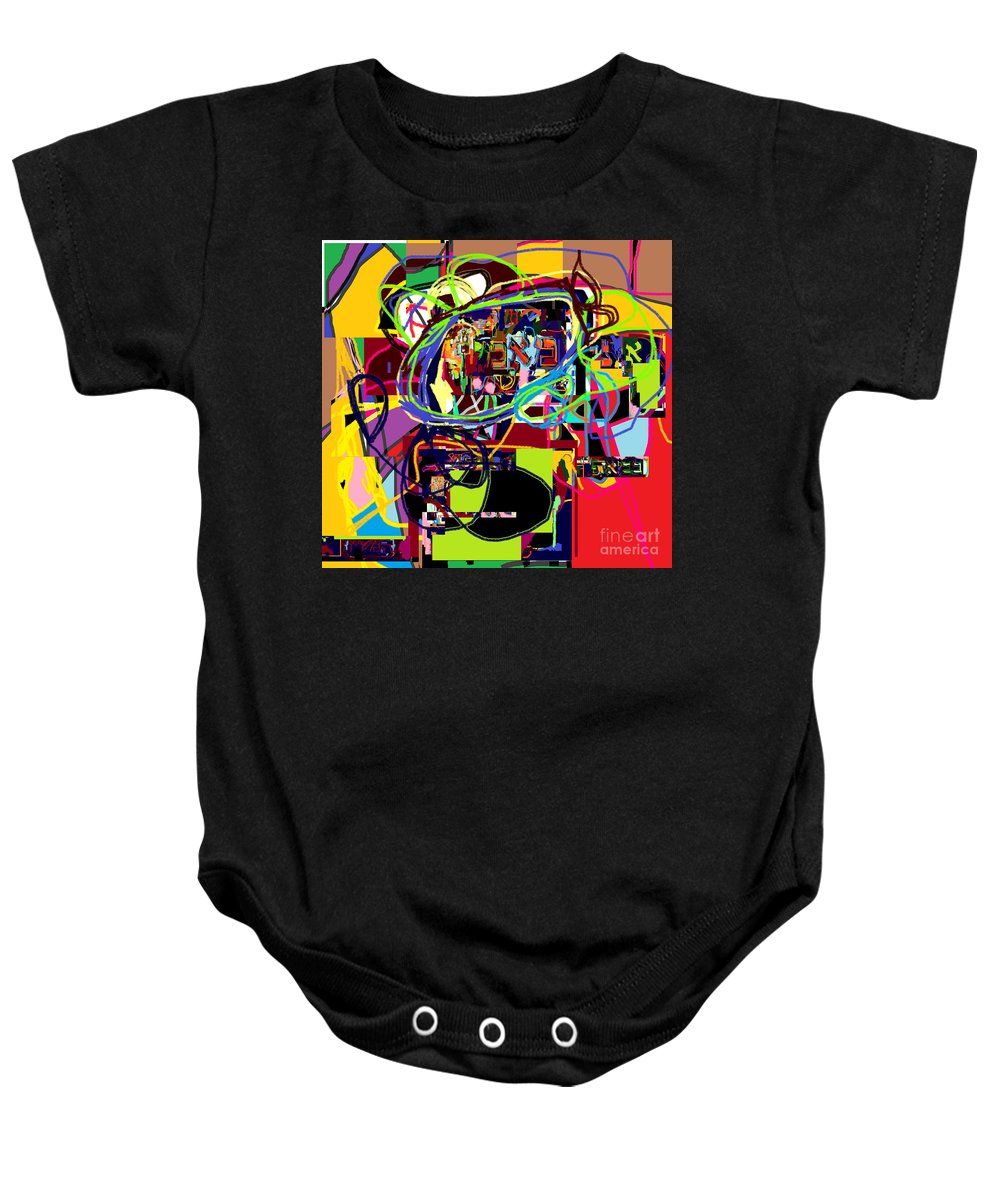 Baby Onesie featuring the digital art I Believe With Complete Faith In The Coming Of Mashiach 5 by David Baruch Wolk