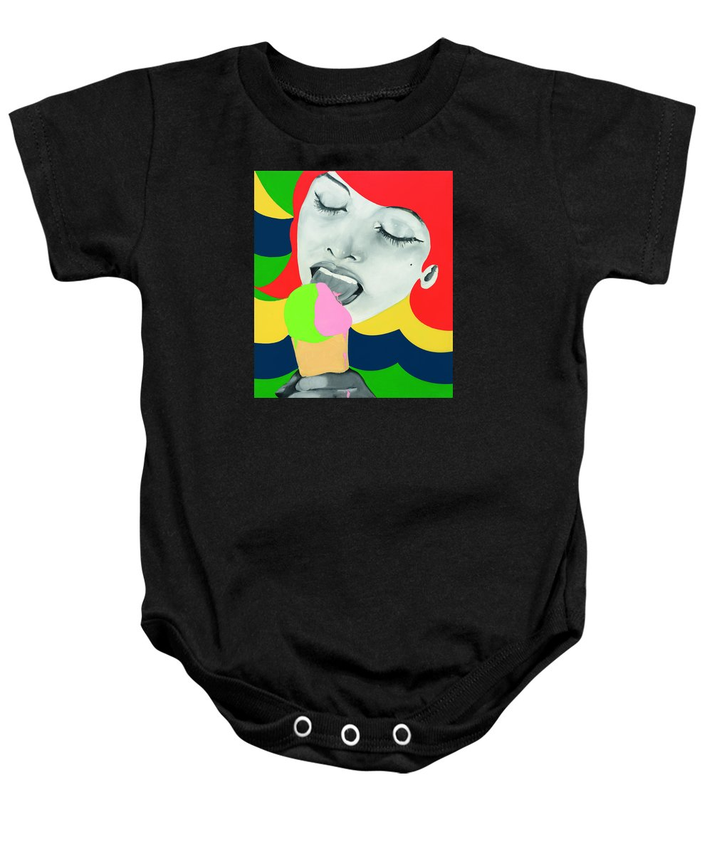 051773e54 Ice Cream Onesie for Sale by Evelyne Axell