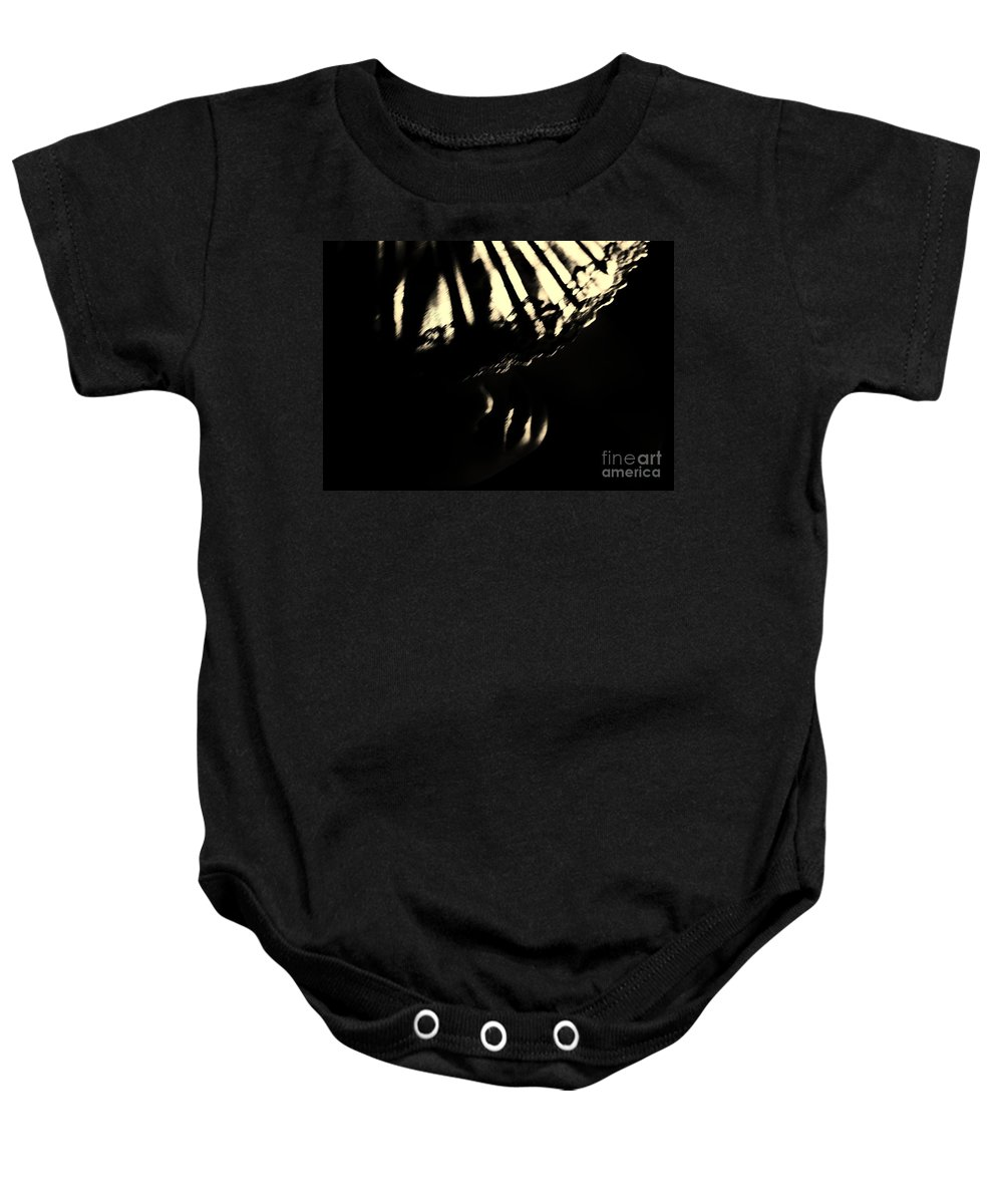 Dark Baby Onesie featuring the photograph If I Could by Jessica Shelton