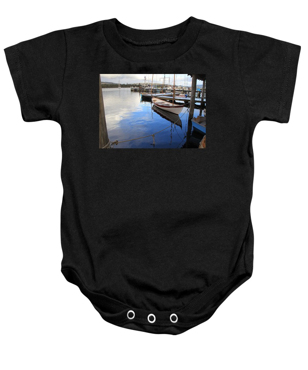 Imagine Baby Onesie featuring the photograph Imagine by Jennifer Kathleen Phillips