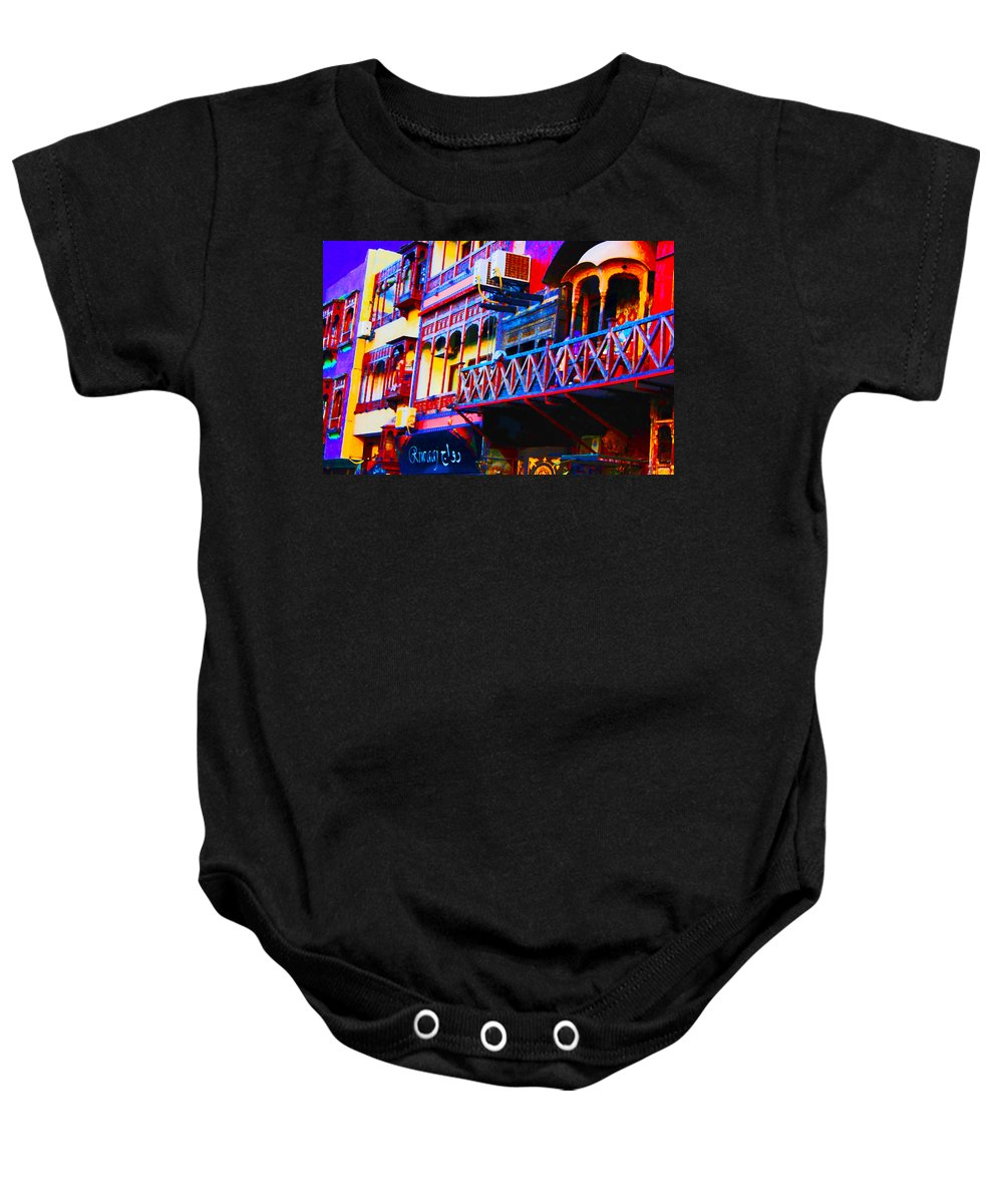 Baby Onesie featuring the painting Impressionistic Photo Paint Ls 001 by Catf