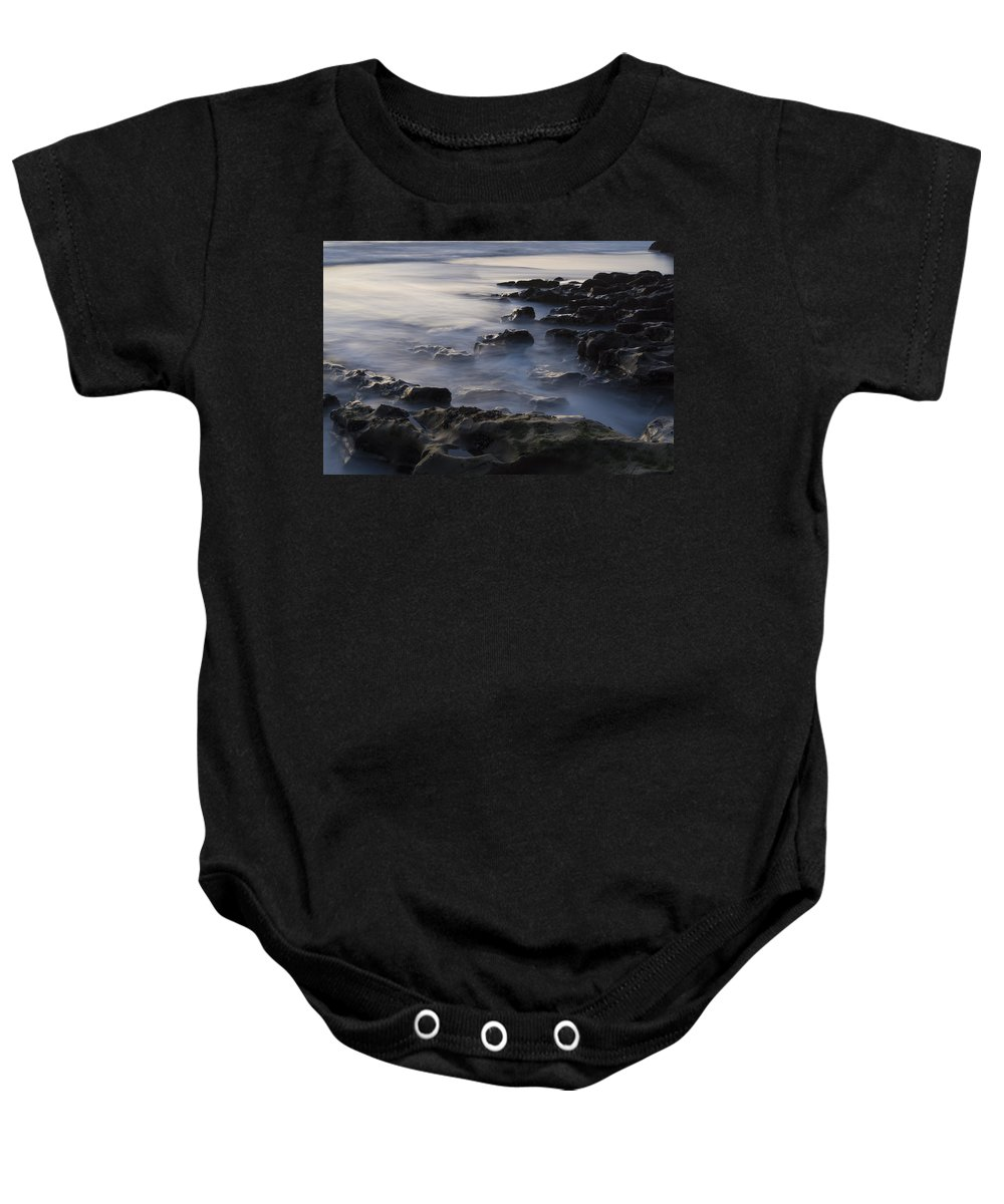 Beach Baby Onesie featuring the photograph In The Fading Light by Alex Lapidus
