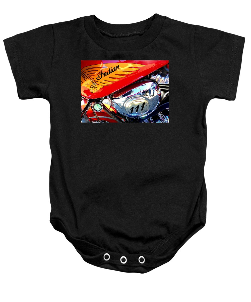 Indian Baby Onesie featuring the photograph Indian by The Creative Minds Art and Photography