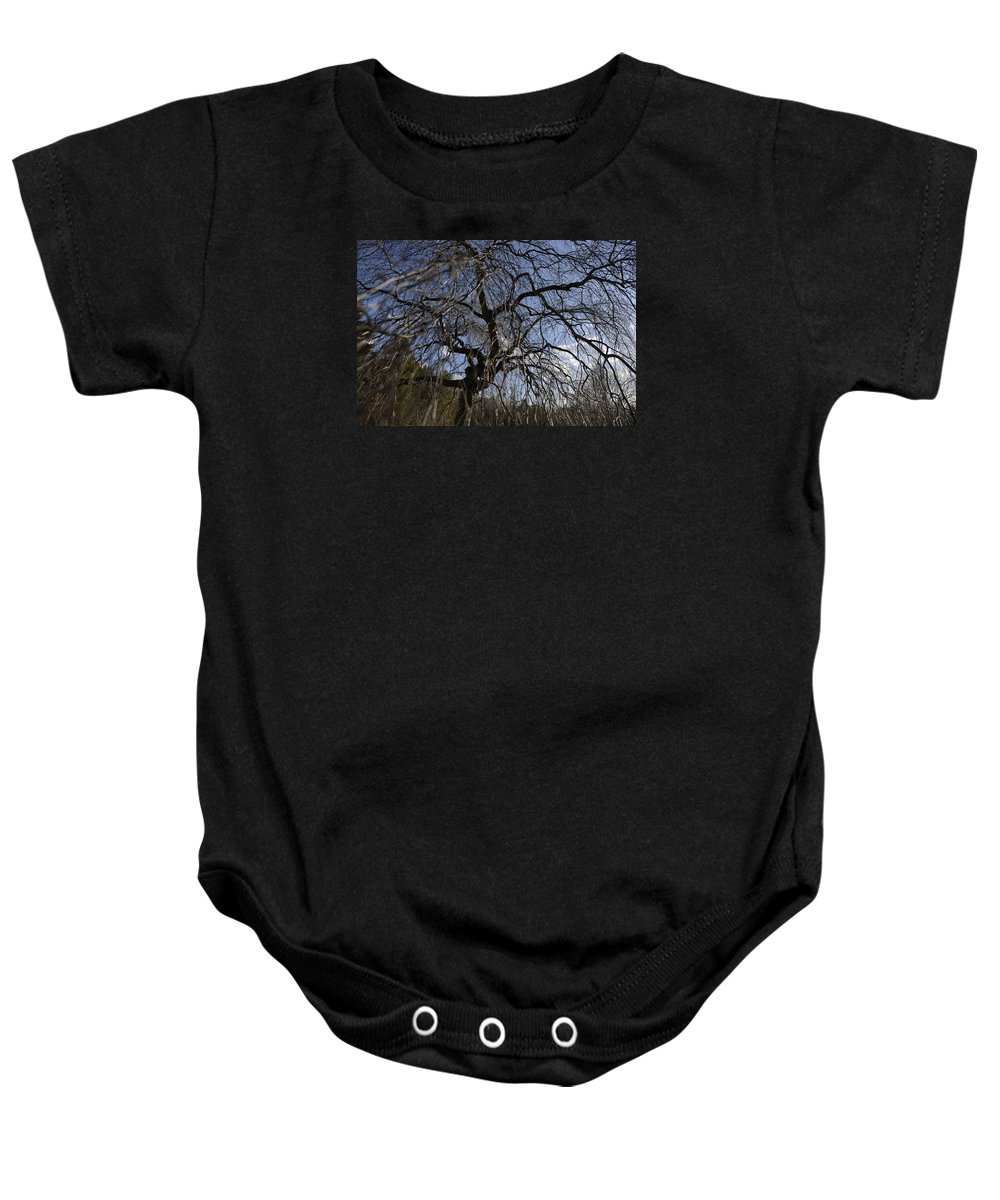 Fine Baby Onesie featuring the photograph Inner Energy In Full Blossom 1 by Teo SITCHET-KANDA