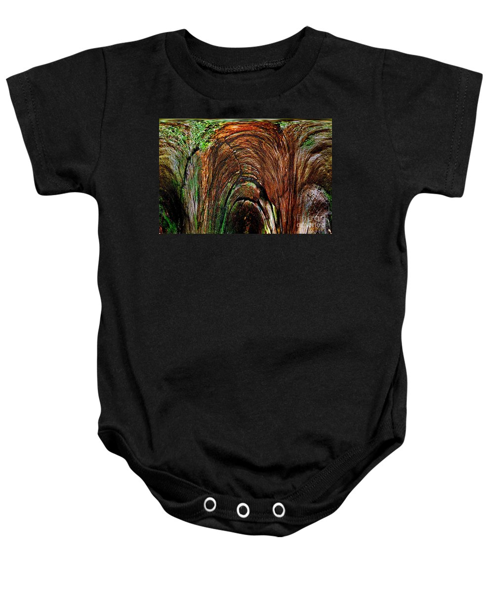Photography Baby Onesie featuring the photograph Inner Sanctum II by Jeff McJunkin