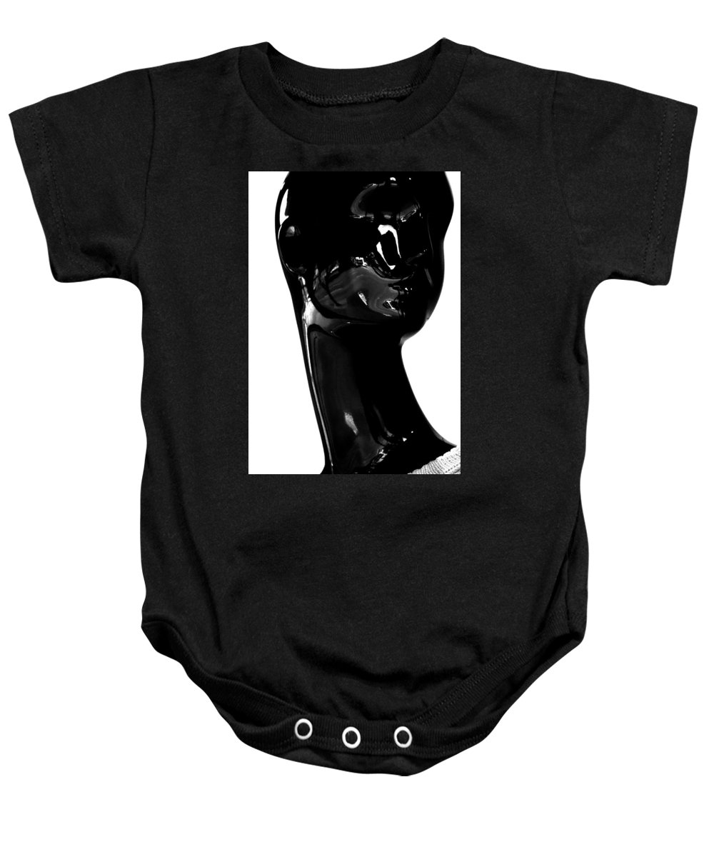Street Photography Baby Onesie featuring the photograph Insist All Insults by The Artist Project
