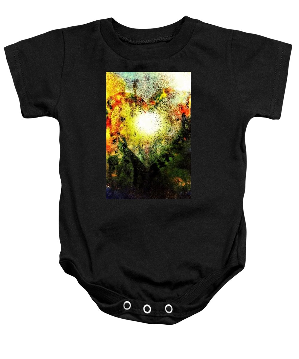 Heart Baby Onesie featuring the photograph Issues Of The Heart by Michele Monk