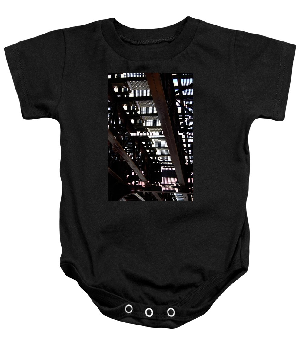 Architecture Baby Onesie featuring the photograph Jammer Architecture 008 by First Star Art