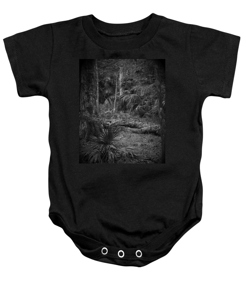 Black Baby Onesie featuring the photograph Jb Starkey Number 2 by Phil Penne
