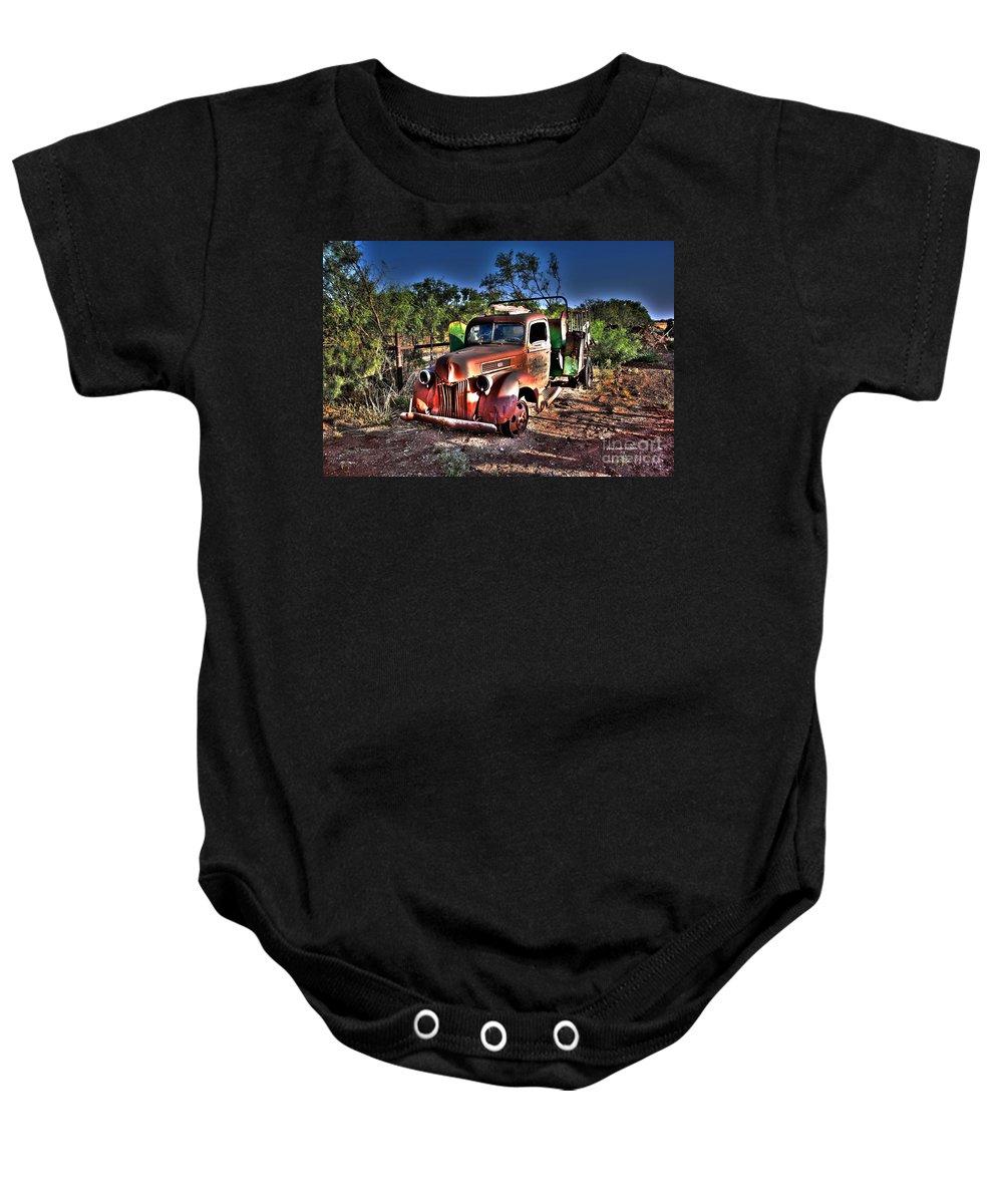 Trucks Baby Onesie featuring the photograph Keep On Truckin by Gary Emilio Cavalieri