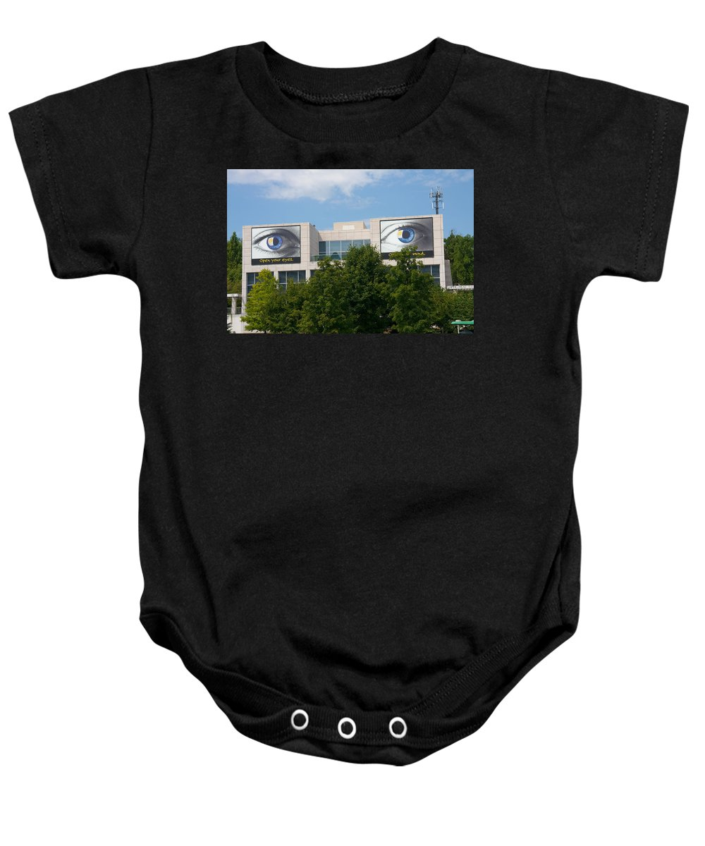 Knoxville Art Museum Baby Onesie featuring the photograph Knoxville Art Museum by Melinda Fawver