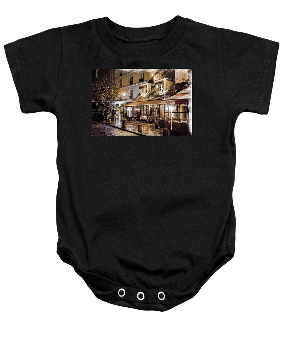 Arch Baby Onesie featuring the photograph Latin Quarter In Copper by Evie Carrier
